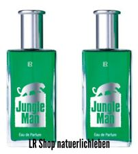 2 mal LR Jungle Man 50ml EdP 37.99€/100ml) NEU & OVP