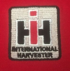 International Harvester Tractor Embroidered T-Shirt - 48 colours- Small to 3XL