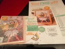 CROSS STITCH COVER KIT FLOWER FAIRIES MAYWEED FAIRY  MAGAZINE COVER KIT