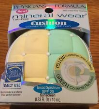 Physicians Formula Mineral Wear Cushion Corrector + Primer Duo 6835 Yellow/Green