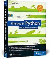 Einstieg in Python: Ideal für Programmieranfänger. Inkl....   Buch   Zustand gut