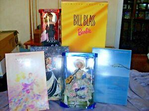 Barbie lot of 6 dolls - Bill Blass, Spring Bou, Starlight, Midnight, Solo, Maria