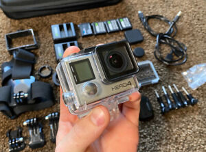 GoPro Hero 4 Silver And Lots Of Accessories