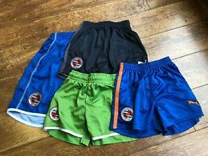 ASSORTED READING FC football shorts  blue green black all sizes  kids boys GEN