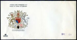Great Britain 2 blank 1969 first day envelopes ovptd. specimen (2020/05/19#01)