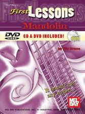 *50 OFF SALE* NEW MANDOLIN BOOK FIRST LESSONS CD & DVD