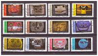 Serie Mascaras de Francia sellos adhesivos 2017