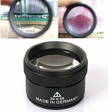Bonayuanda 30x36mm Jeweler Optics Loupes Magnifier Loop Microscope Magnifying