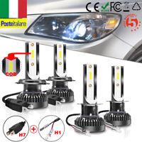 Combo H7 & H1 110W 26000LM LED Faro Lampadina Kit Auto Fari Luci Bianco 6000K SP
