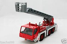 """Affluent Town 7"""" Diecast Large Fire Ladder Truck Red Model COLLECTION New Gift"""