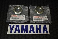 Yamaha Raptor 660 Rear Axle Nuts 2001-2005 GENUINE STOCK OEM 660R Yfm660r NEW