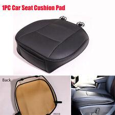 1PC Vehicle SUV Car Seat Cover Cushion Protector Pad Black PU Leather Anti-slip