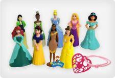 Princess Cake Toppers / 9 Figures & Princess Bracelet