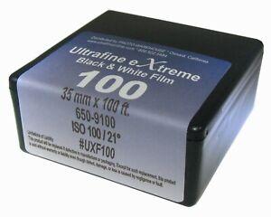 Ultrafine Xtreme 100 B & W 35mm x 100 Foot extreme Film Fresh 2024 #UXF100