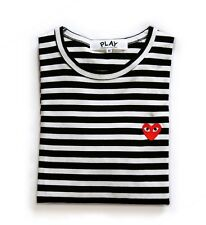 COMME DES GARCONS CDG PLAY DARK STRIPED LONG SLEEVE 2 COLOR^