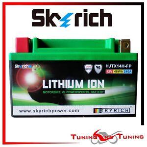 Batteria a Litio SKYRICH HJTX14H-FP per YAMAHA YZF R1 1000 2004 2005 2006 2007