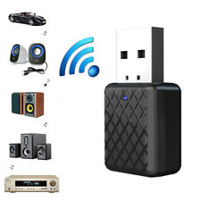 2 in 1 USB Bluetooth V5 Transmitter Receiver A2DP 3.5mm AUX Stereo Audio Adapter