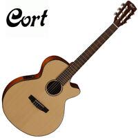 "Cort CEC3 Nylon Classical Guitar Natural Satin 45mm 1 3/4"" Nut  Slim Body Short"