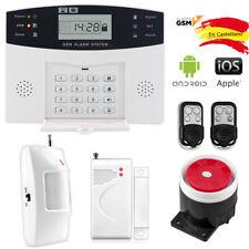 THUSTAR (QXC-8888) Kit Alarma Inalámbrica GSM para Casa o Negocio 30A