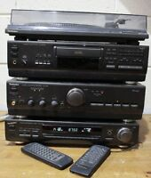 TECHNICS SU-A700 Amplifier, ST-GT550 Tuner, SL-PS740A CD + SLBD22D Turntable 223