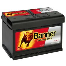 P7209 Banner Power Bull 72ah batteria auto * pronti all'uso *