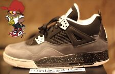 AIR JORDAN 4 RETRO GS IV FEAR PACK OREO COOL GREY CEMENT 626969-030 SIZE 7y DS!