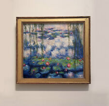 CLAUDE MONET PAINTING - 20TH CENTURY ART- IMPRESSIONIST