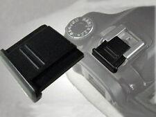 2 X Coperchio contatto caldo per Canon Nikon Olympus Pentax Panasonic DSLR SLR-UK Venditore