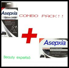 ASEPXIA CARBON DETOX 1BAR 100g & 12 Patches of acne fighting treatment