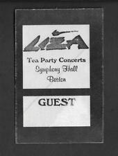 LIZA MINNELLI  Authentic Back Stage Pass BOSTON Symphony Hall