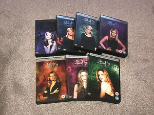 BUFFY THE VAMPIRE SLAYER : THE COMPLETE COLLECTION 1 - 7 DVD BOXSETS FREE UK P&P