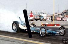 """Hawaiian"" Roland Leong mid 1960s ""SlingShot"" Top Fuel Dragster PHOTO!"