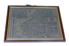 Antique Map of Scotland Framed and Preserved - Age has quite darkened this map