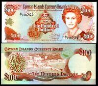 CAYMAN ISLAND 100 DOLLARS 1996 P 20 UNC