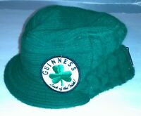 Guinness Merchandise Men's Green Hat Luck Of The Irish Dublin Ireland 1759