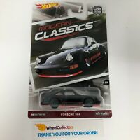 Porsche 964 * BLACK *  * Hot Wheels MODERN CLASSICS Car Culture * WJ11