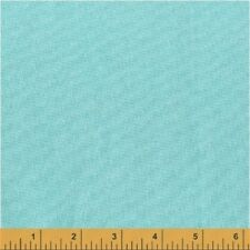 Windham Opalesence Metallic 41580 1 Turquoise Solid Metallic Cotton Fabric BTY