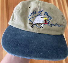 Vintage 90s Birds of Prey Expeditions Dad Hat Cap baseball Eagle Owl Hawk Nature