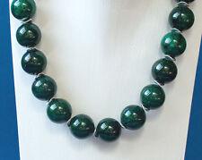 CHRYSOKOLL (Natur) Kette         ... in smaragdgrün