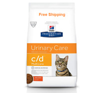 Hill's Prescription Diet Dry Cat Food,Veterinary Diet,c/d Multicare Urinary Care