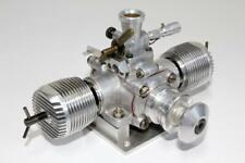 Rare 1958 Vintage Webra Boxer 7.0cc Opposed Twin Diesel Prototype Model Engine.