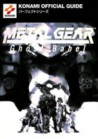 Metal Gear Ghost Babel Perfect Guide Book/ GBC