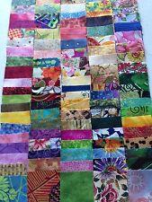 300 piece  bundle of 2 inch squares 100% cotton quality fabric accu cut