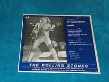 ROLLING STONES - LIVE AT THE HARTFORD CIVIC CENTER 1981 - 2 LP'S FOR COLLECTORS