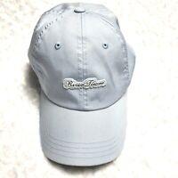 RIVER TOWNE Ball Cap American Needle Quality Headwear Light Blue Hat #00476