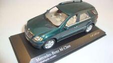 Coches, camiones y furgonetas de automodelismo y aeromodelismo verdes MINICHAMPS Mercedes