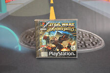 STAR WARS EPISODE J'AI JEDI ALIMENTATION BATTLES NEUF PS1 PSX PLAYSTATION ENVOI