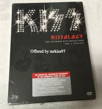 KISS KISSOLOGY Vol I DVD Collection MSG Bonus Disc Sealed Aucoin 1974-1976 OOP