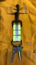 LINE2design Reflective Firefighter Key Ring - Fire Rescue Nylon Key chain