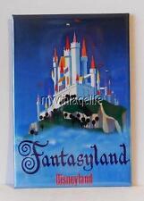 "VINTAGE FANTASYLAND CASTLE DISNEYLAND 2"" x 3"" Fridge MAGNET art disney"